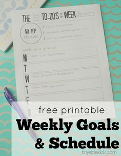 How I'm Getting More Done Each Week & a Free Printable!
