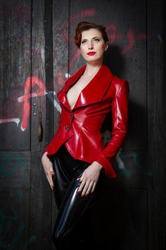 latex blazer - Google Search