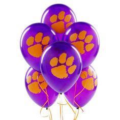 Clemson Balloons