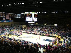 University of Toledo's Savage Arena was awarded #LEED Gold certification for Existing Buildings: Operation & Maintenance in 2011. The arena primarily serves as the home venue for the Toledo Rockets men's and women's basketball teams and women's volleyball team, and also hosts concerts, commencement exercises, and other events. #UToledo