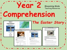 Year 2 SATs style comprehension - Easter Story