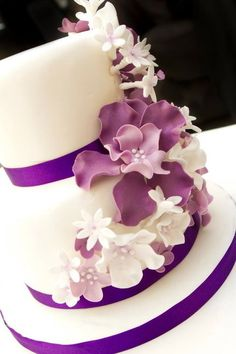 First wedding cake  Cake by QueenB