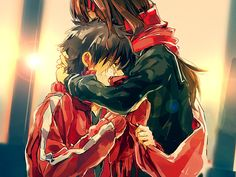 Kagerou Project:Ayano Tateyama and Shintaro Kisaragi