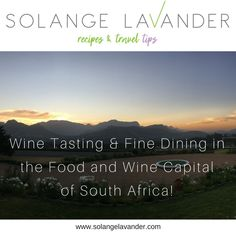 The Franschhoek valley is known as the food and wine capital of South Africa. Franschhoek is a beautiful old small town in the Western Cape Province, with a lot of French influence. Read the post for travel tips in this beautiful and relaxing part of the world!