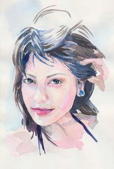 Sketchy #788: Patricia Sanchez by Veronika Gutnik