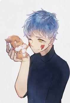 Akatsuki no Yona Me Me Me Anime, Anime Guys, Manga Anime, Anime Art, Akatsuki No Yona, Shin Ah, Blue Dragon, Big Love, Shoujo