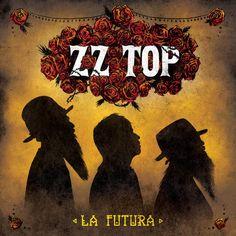 album cover art: zz top - la futura [2012]