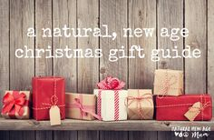 A natural, new age Christmas gift guide with DISCOUNT CODES and SHIPPING deals :D