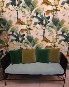 New Wallpaper, Palms, Colour, Bedroom, Pretty, House, Beautiful, Collection, Instagram
