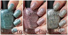 Zoya Magical Pixie Dusts swatches review