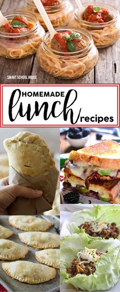 "Who can afford to eat out all the time? Not ME! Here are some neat homemade lunches. People will envy you (and of course ask you, ""how did you make that?"")"