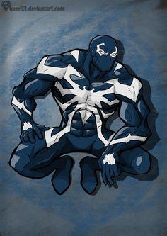 Venom by shamserg on DeviantArt Venom Comics, Marvel Venom, Marvel Art, Marvel Heroes, Spiderman Art, Amazing Spiderman, Symbiotes Marvel, Character Art, Character Design