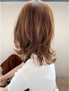 Medium Hair Cuts, Medium Hair Styles, Long Hair Styles, Kawaii Hairstyles, Hairstyles Haircuts, Shot Hair Styles, Locks, Hair Color, Hair Beauty