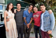 Part of the Teen Wolf cast at San Diego Comic Con on July 20th, 2017