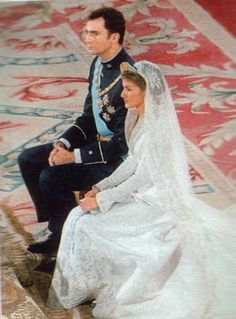 Un momento de la ceremonia religiosa en la boda del principe Felipe de Asturias y Letizia Ortiz el 22 de Mayo de 2004