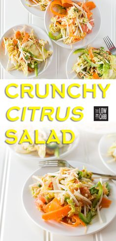 This citrus salad recipe is perfect for a zesty