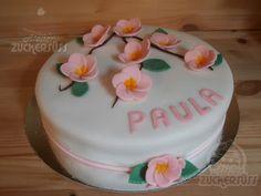 Frangipani (Plumeria) cake