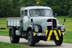 ○ ♥♦♥ Saurer 2DM BJxxxx Kipper grau ♥2 #Saurer #CH #Oldtimer #Adolf_Saurer_AG  #Saurer_2DM _Kipper Semi Trailer, Busse, Transporter, Old Cars, Trailers, Jeep, Monster Trucks, Europe, Vehicles