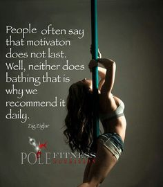 Pole Dancing Quotes | Quote Addicts
