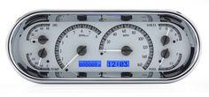 DAKOTA DIGITAL UNIVERSAL RECESSED OVAL VHX INSTRUMENT ANALOG DASH GAUGES VHX-1018 - Phoenix Tuning