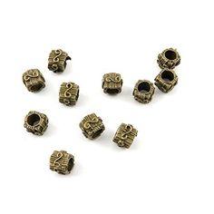 220 PCS Jewelry Making Charms Findings Supply Supplies Crafting Lots Bulk Wholesale Antique Bronze Tone Plated U3DE4 Gift Box Loose Beads *** Details can be found by clicking on the image.