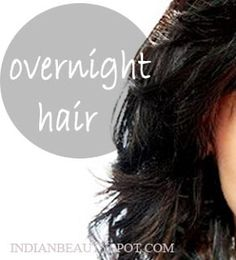 promote hair growth along with a good nights sleep
