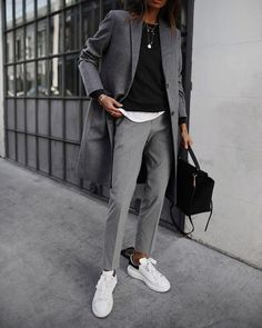 50 Attractive Tomboy Chic Outfits Ideas The latest trend making its rounds in Hollywood is women's playsuits. Jumpsuits and playsuits save the hassle of pairing top […] - 50 Attractive Tomboy Chic Outfits Ideas Trend Fashion, Tomboy Fashion, Look Fashion, Fashion Outfits, Fashion Ideas, Fashion Clothes, Queer Fashion, Weird Fashion, Style Clothes