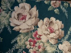 1940s textile sample