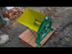 Rębak BZK do malin, krótkich gałęzi (Wood chipper) - YouTube