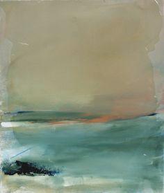 Judy Hintz Cox abstract landscape art painting
