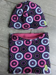 Schlauchschals - ***Winter Wende Loop Schal mit Mütze *** - ein Designerstück von Melanie-Roesler bei DaWanda
