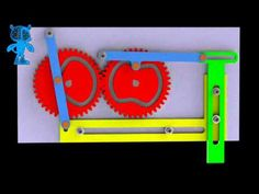 Gears-Cams-Sliders Hammer Mechanism 3D Model - YouTube Mechanical Design, Mechanical Engineering, English Wheel, Marble Machine, Mechanic Humor, Gear Art, Denim Crafts, Kinetic Art, Simple Machines