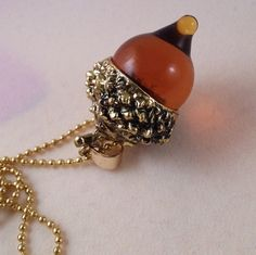 Hey, I found this really awesome Etsy listing at https://www.etsy.com/uk/listing/478856131/amber-acorn-glass-pendant