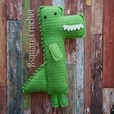 Bsquare Crochet: Mighty the Alligator - FREE Crochet pattern