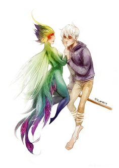 Image result for rise of the guardians jack frost x tooth fairy