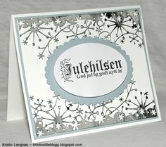 Kristins lille blogg: Julekort