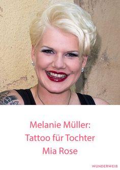 Melanie Müller sorgt mit Baby-Tattoo für Ärger #melaniemüller #baby #tattoos