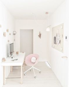 A curated web design showcase from the best studios and designers around the world. Workspace Inspiration, Interior Design Inspiration, Decor Interior Design, Room Inspiration, Interior Decorating, Design Ideas, Home Office, Office Workspace, Office Decor