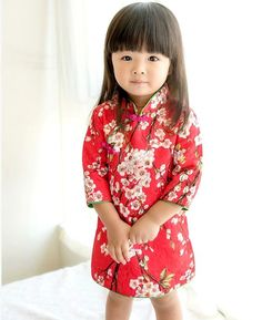 dc218b9e314c Oriental Fashion, Asian Kids, Chinese Clothing, Cheongsam, Chinese Style,  Beautiful Children, Kids Wear, Fancy, Clothing Patterns