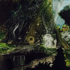 Ori and the Blind Forest fan art by Instagram user kiinder22