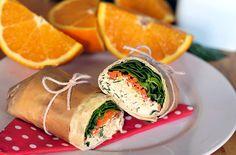 Cruelty Free Hedgehogs : Tortilly s KoproTofu Salátem Vegan Recipes, Vegan Food, Healthy Food, Fresh Rolls, Tofu, Side Dishes, Vegetarian, Herbs, Lunch