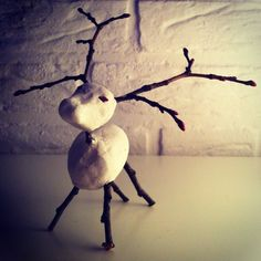Reindeer | deer | clay | DIY | winter | christmas | Xmas