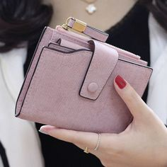 Vintage Women Ladies Leather Wallet Clutch Wallet