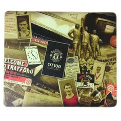 Manchester United F.C. Mouse Mat OT 100 - Rs. 525 Official #Football #Merchandise from the #EPL