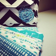 Teal and black cash envelopes  Www.etsy.com/shop/daisylanedesign