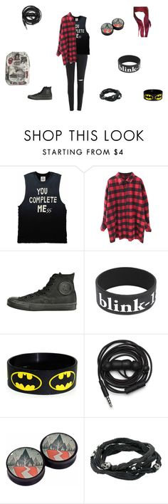 """You complete MEss"" by xxpiercetjessxx on Polyvore featuring Converse, Urbanears, King Baby Studio and Floyd"