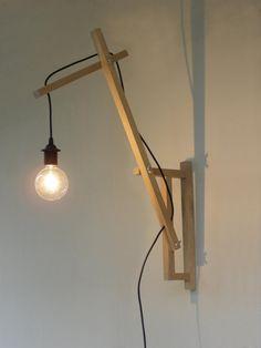 Minimal applique lampada da parete di TassoStudio su Etsy