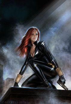 """La Viuda Negra (""""Black Widow"""" en inglés) es un personaje ficticio que pertenece a la Marvel Comics. Dentro del Universo Marvel hay varias viudas negras, todas ellas pertenecen o han pertenecido a una organización espía rusa. La más importante es..."""