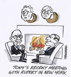 RUPERT MURDOCH editors told to 'kill Whitlam' in 1975 (Australian Prime Minister) The US National Archives has just declassified a secret diplomatic telegram dated January 20, 1975 that sheds new light on Murdoch's involvement in the tumultuous events of Australia's 1975 constitutional crisis. Read more: Illustration: Ron Tandberg