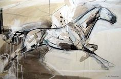 Horse Art: The Flyer by Jo Taylor  From The Equestrian Gallery